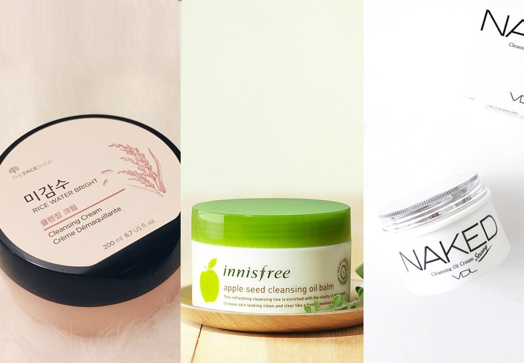 Cleansing creams and balms