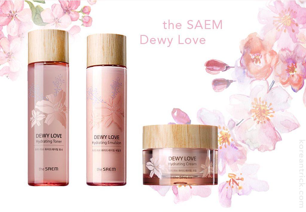 the SAEM Dewy Love Hydrating Cream Bella terra  Daily Moisturizer