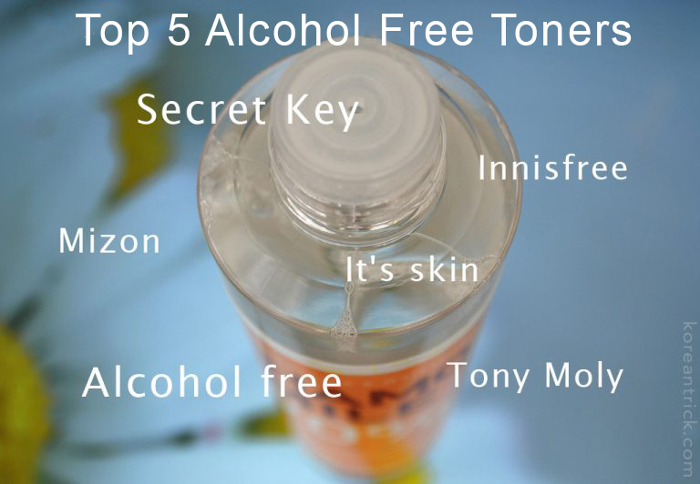Top 5 Alcohol Free Toners for Sensitive Skin