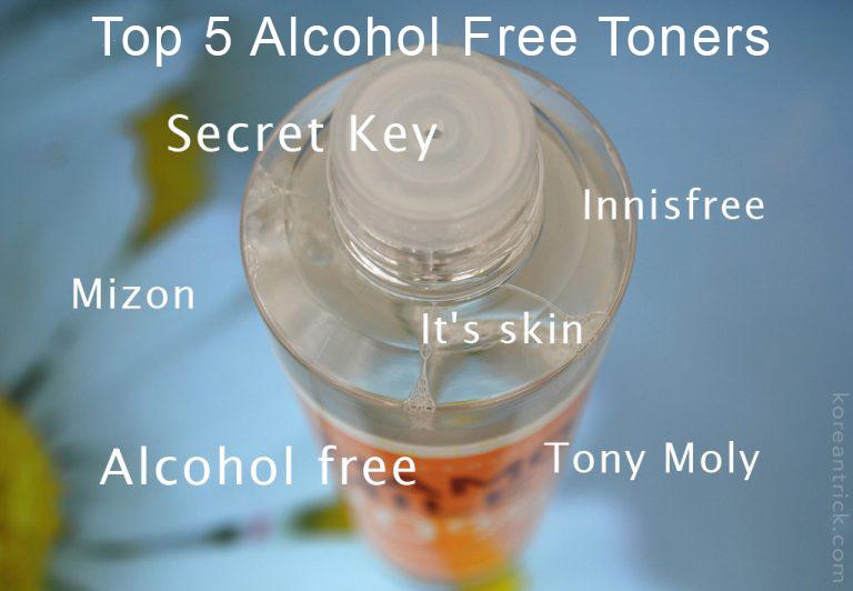 Top 5 Alcohol Free Toners for Sensitive Skin