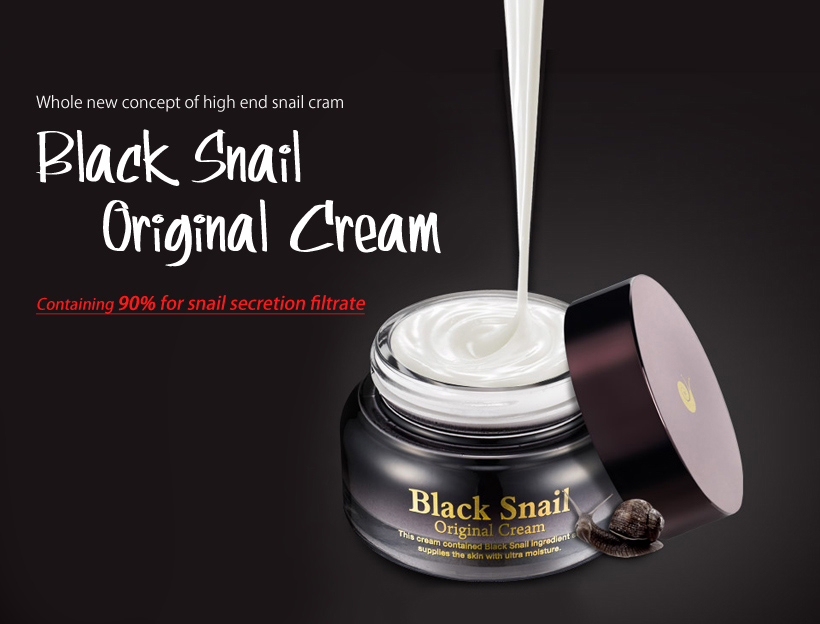 Black Snail Original Cream