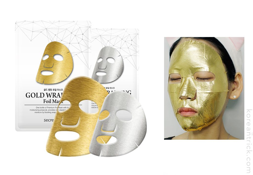 Wrapping Foil Mask