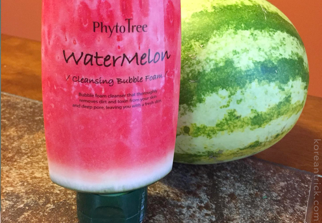 Phyto Tree Watermelon Cleansing Bubble Foam Cleanser review