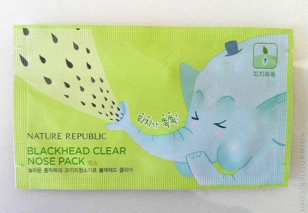 Clear Nose Pack