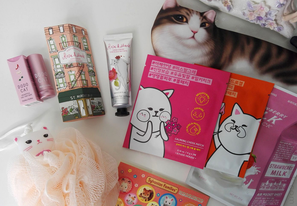 "A kitty beauty box ""Milli and Casper"""