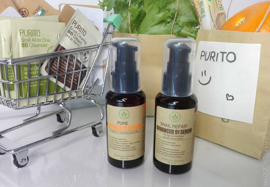 Purito Serums review