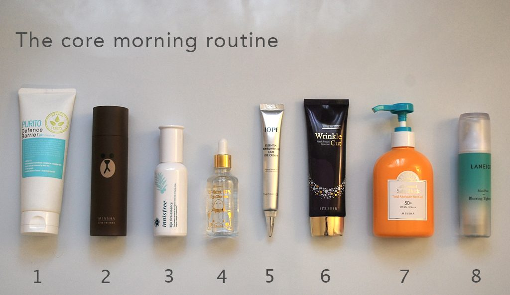 The core morning routine