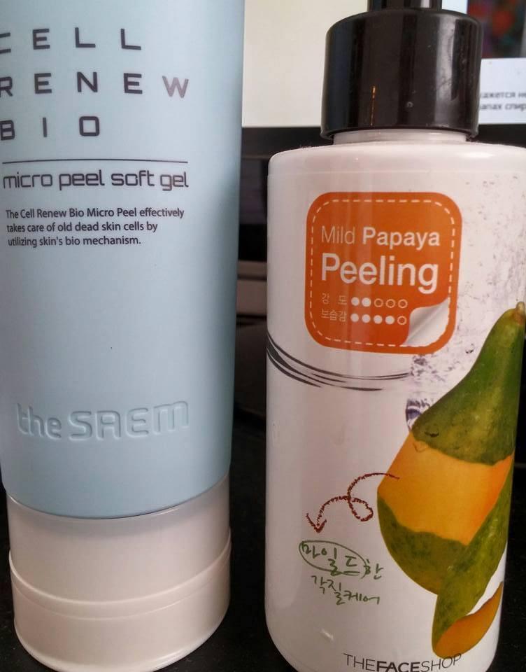 The Saem Cell Renew Bio Micro Peel Soft Gel