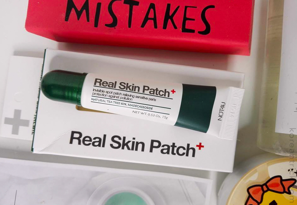 NOT4U Real Skin Patch review