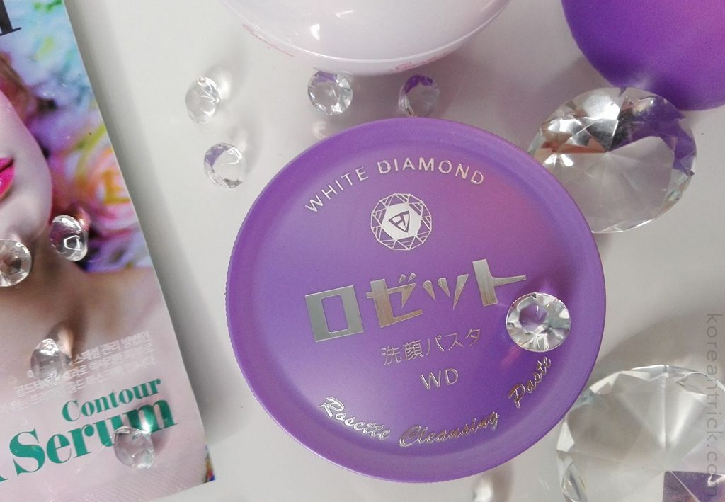 ROSETTE Cleansing Paste White Diamond Sulfur