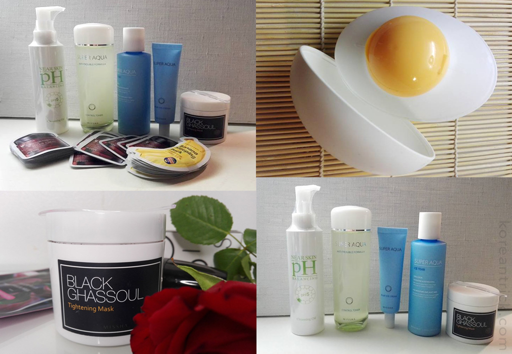 Korean line for young post acne skin