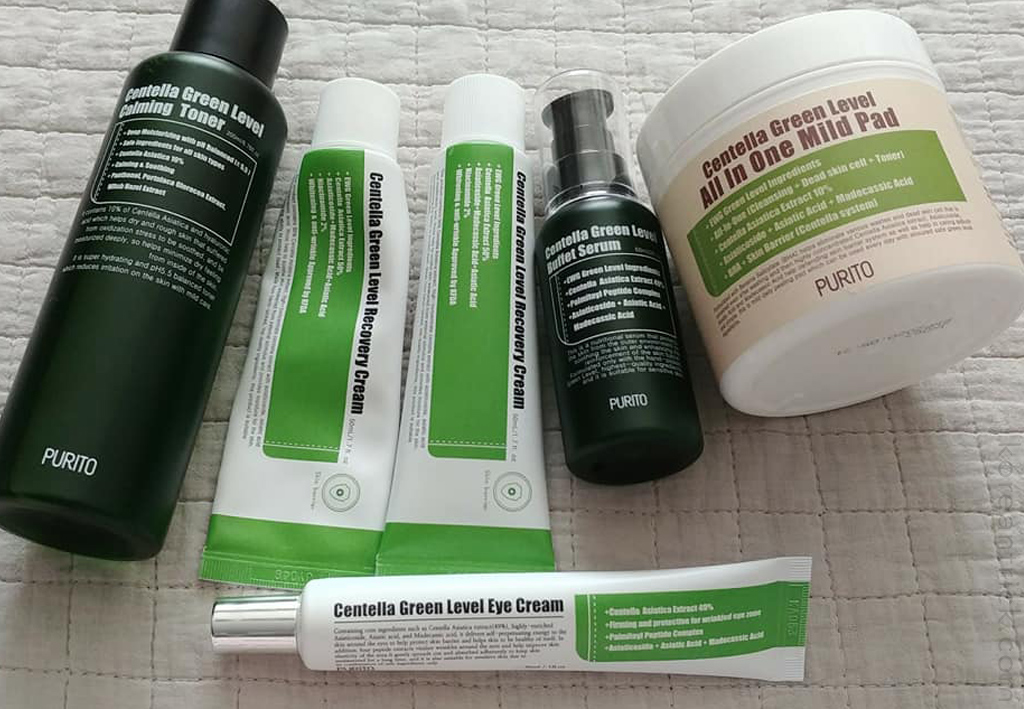 Purito Centella Green Level Line Review