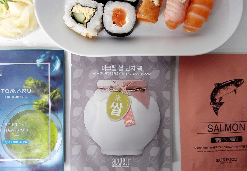 A Delicious Korean Menu for Our Skin