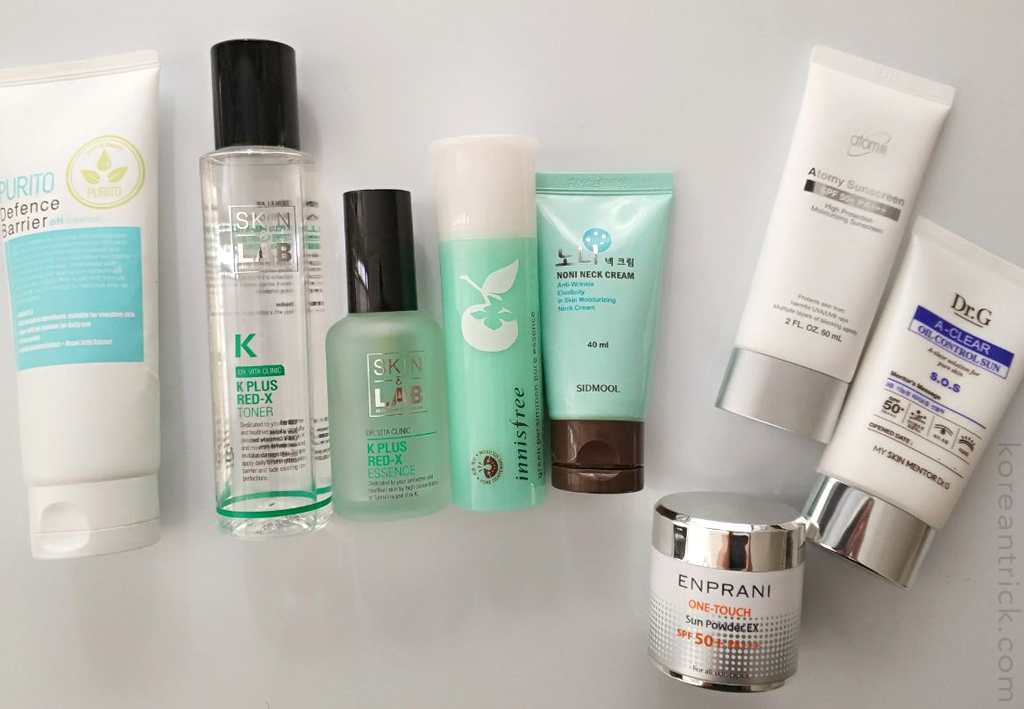 Morning and evening skincare routines for sensitive skin