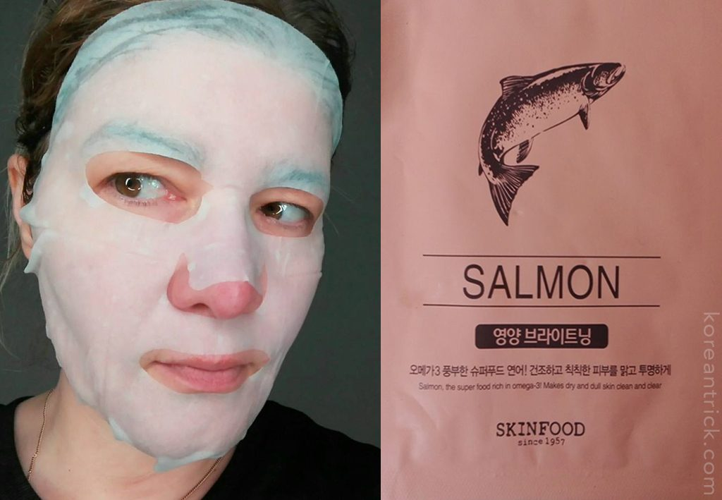 Salmon Sheet Mask