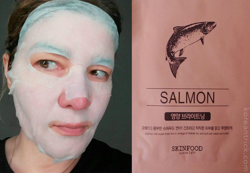 Salmon Sheet Mask