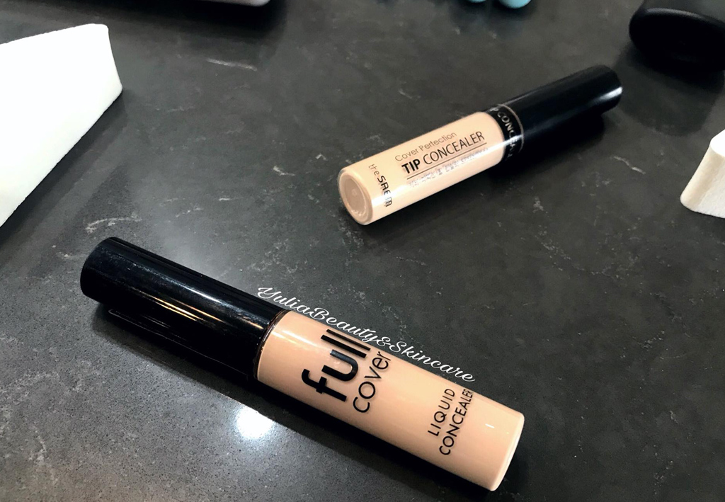 Korean concealers – comparison