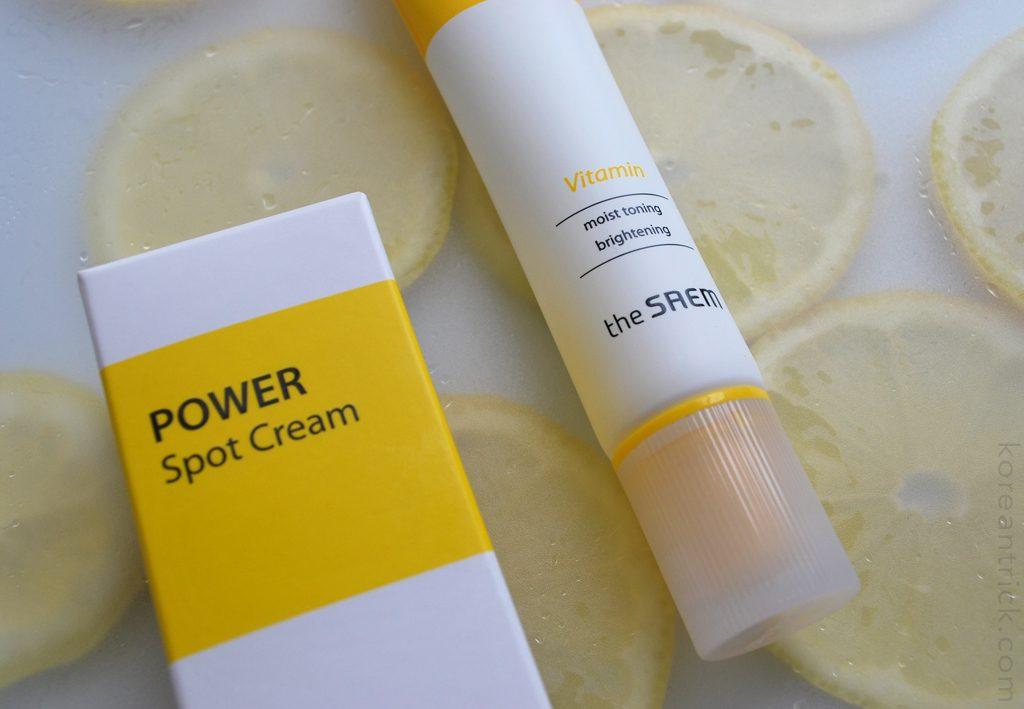 the SAEM Power Spot Vitamin Cream