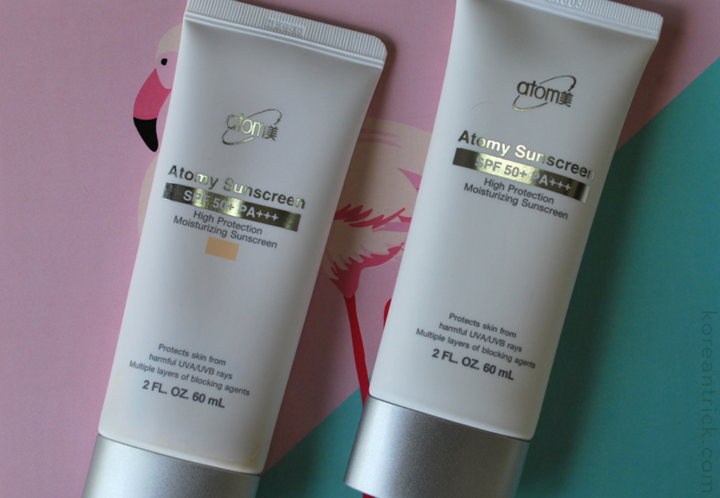 Atomy Sunscreen SPF 50+ PA+++ Review