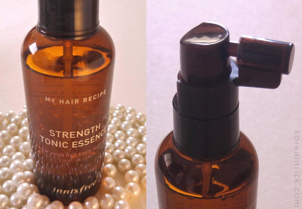 Innisfree My Hair Recipe Strength Tonic Essence review