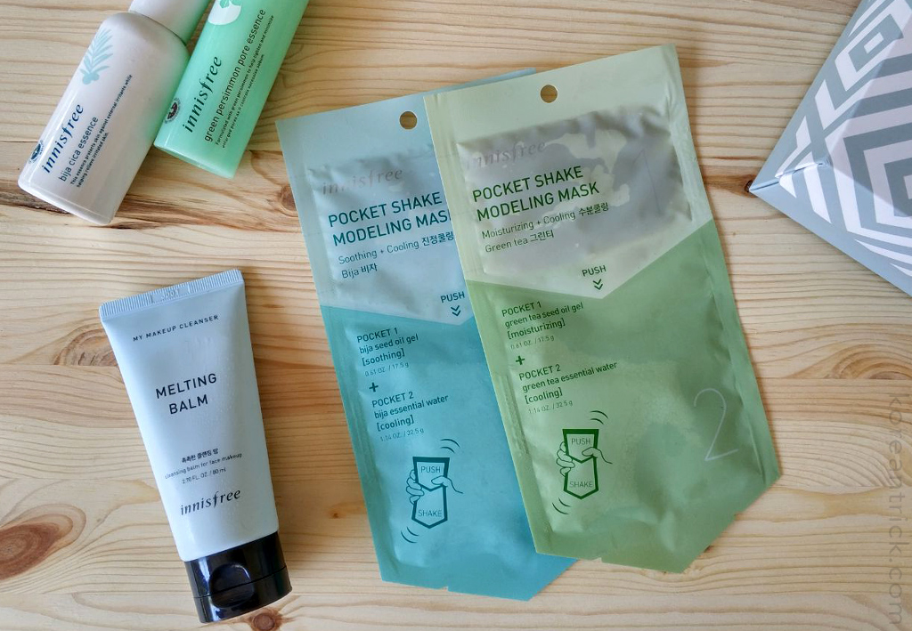 Innisfree Pocket Shake Modeling Mask review